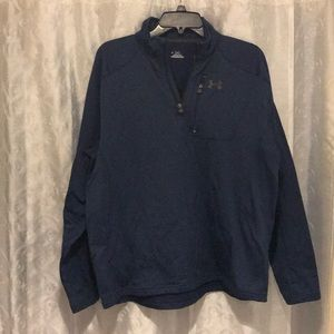 Under Armour Cold Gear 1/4 ZIP Jacket Size L!